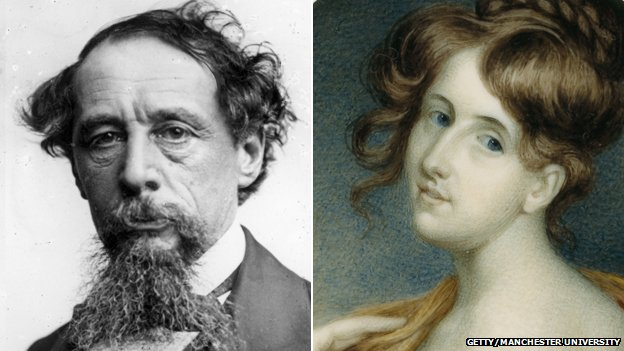 Charles Dickens and Elizabeth Gaskell