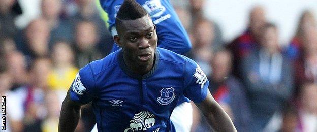 Christian Atsu of Everton