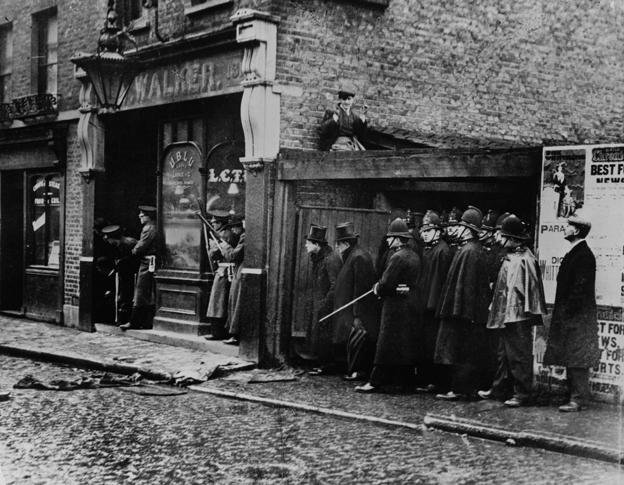 Sidney Street siege 1911