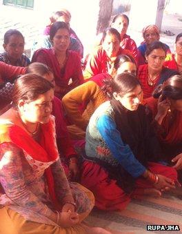 School girls in India