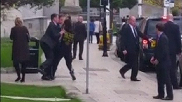 Man runs into PM