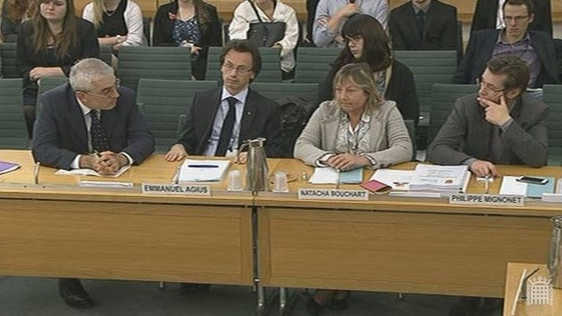 Select committee hearing