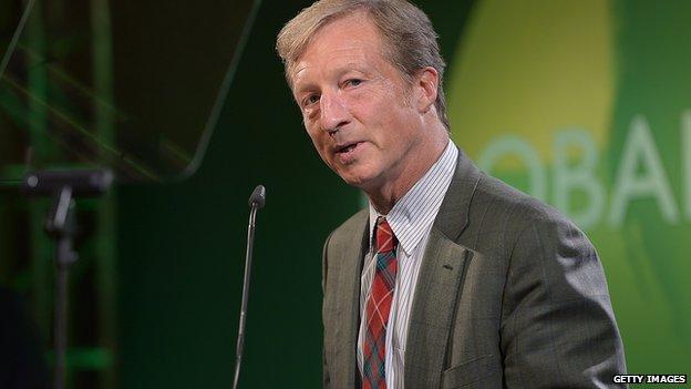 Hedge-fund billionaire Tom Steyer.