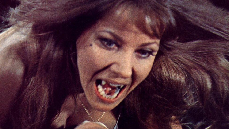 Ingrid Pitt from The Vampire Lovers (1970) - Leicester Hammer Horror Archive