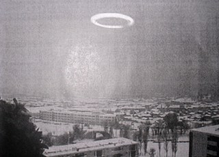 An unidentified ring over Marseille