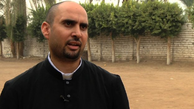 George Matta, a Christian pastor in Egypt