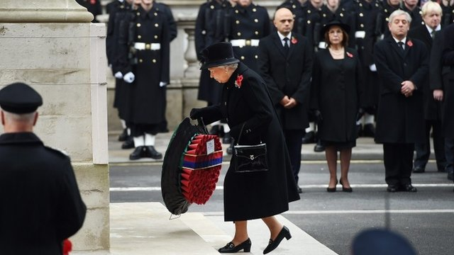 Image result for queen  wreath whitehall