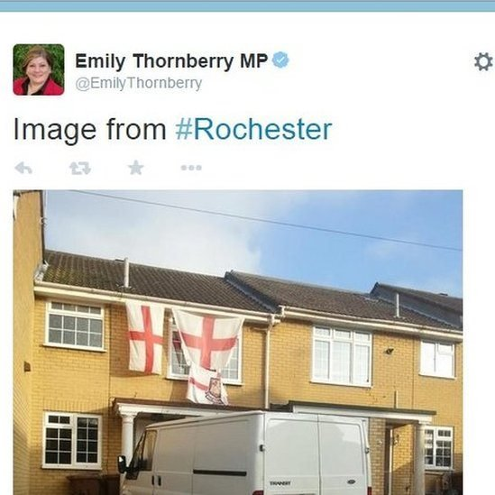 Picture of Emily Thornberry tweet