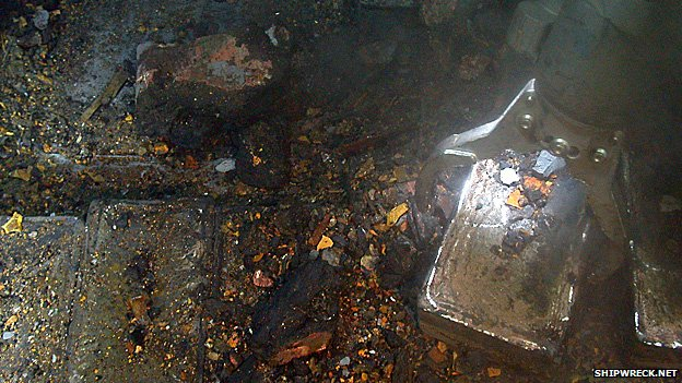 Recovering silver bullion from the SS Gairsoppa