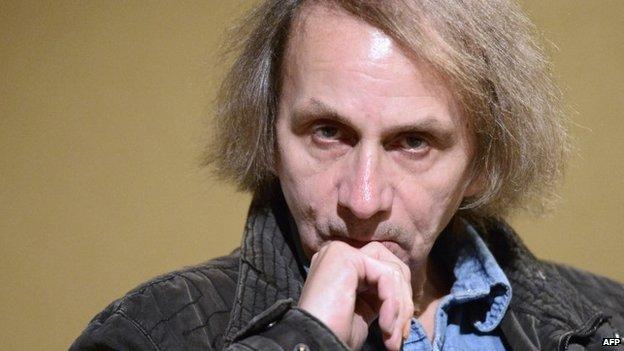 French writer Michel Houellebecq (November 2014)