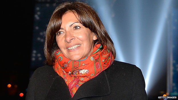 Mayor Anne Hidalgo