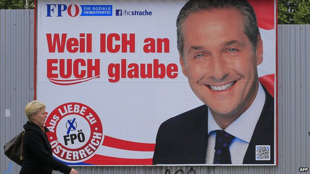Strache election poster (2013)