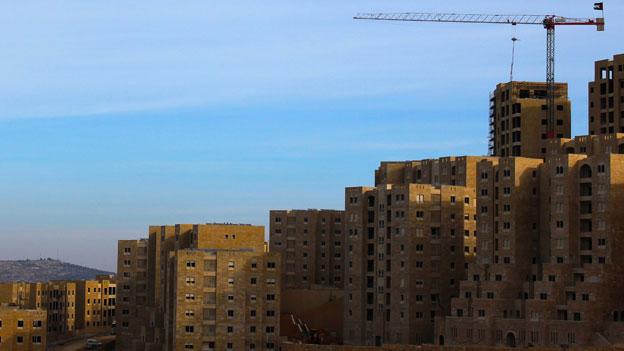Rawabi skyline