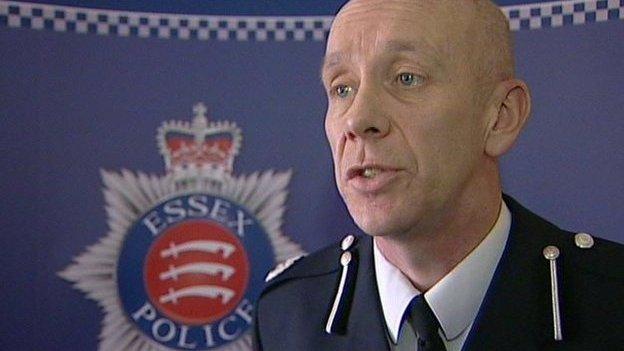 Essex Assistant Chief Constable Derek Benson