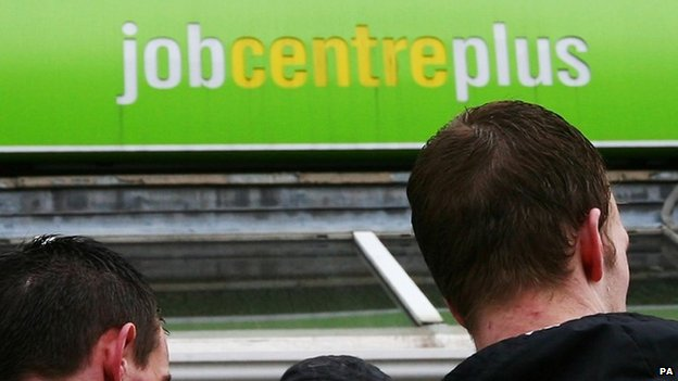 Jobcentreplus sign