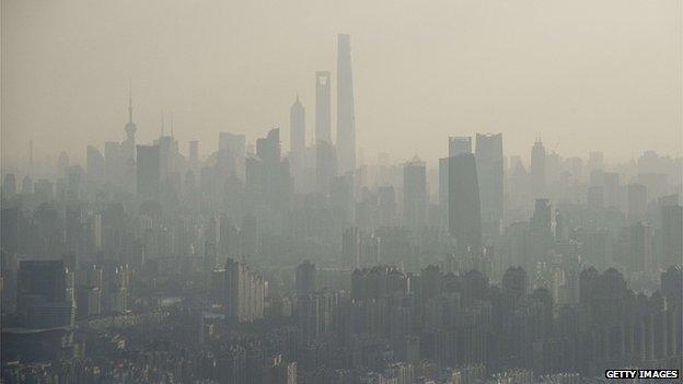 Pollution in Shanghai