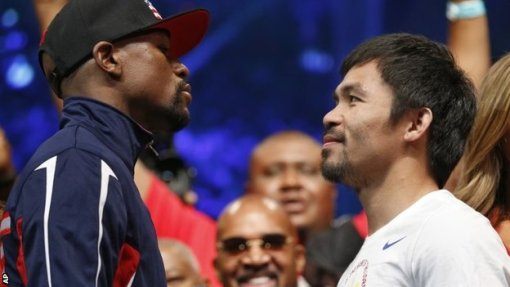 Floyd Mayweather and Manny Pacquiao