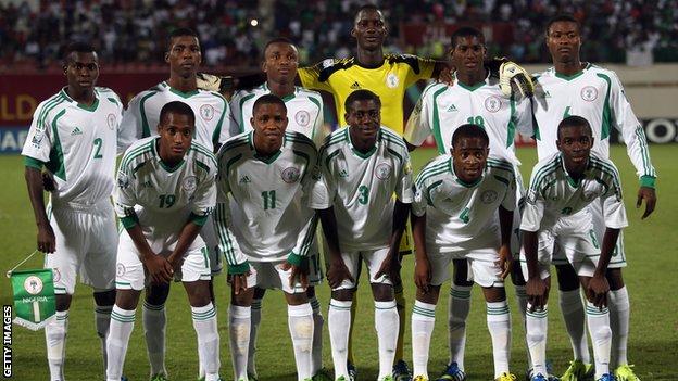 Nigeria 2013 U-17 World Cup winners