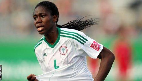 Nigeria and Liverpool forward Asisat Oshoala