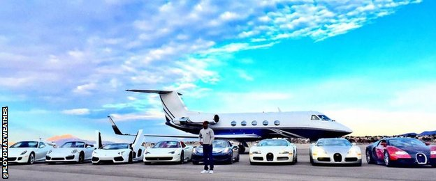 Floyd Mayweather twitter picture