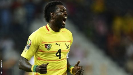 Togo's Emmanuel Adebayor