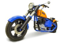 Welcome the First 3D Printed Functional Motorcycle