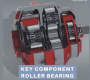 High reliability roller bearings