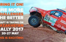 CRAFT Bearings team is off to Kazakhstan Rally!