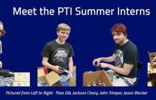 PTI Welcomes Our Summer Interns
