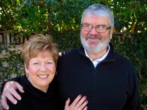 L to R: Linda Cates with her husband, Bill