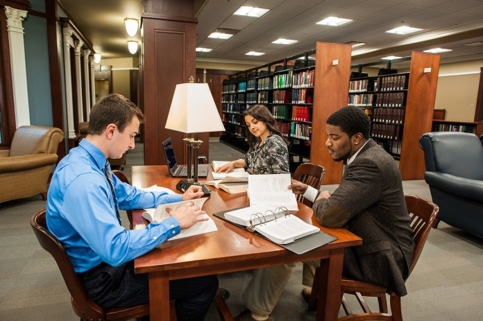 College of Law Stock Image
