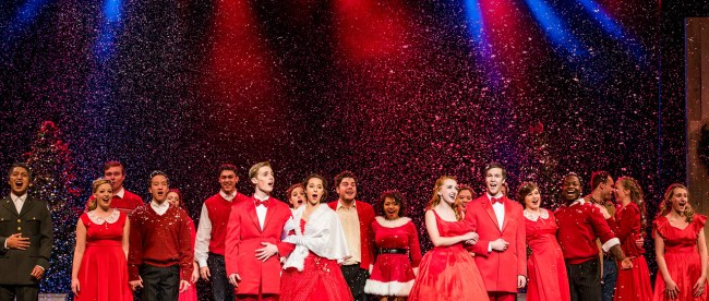 Belmont White Christmas Performance