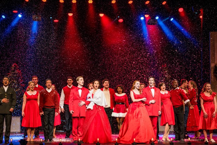 Belmont White Christmas Performance