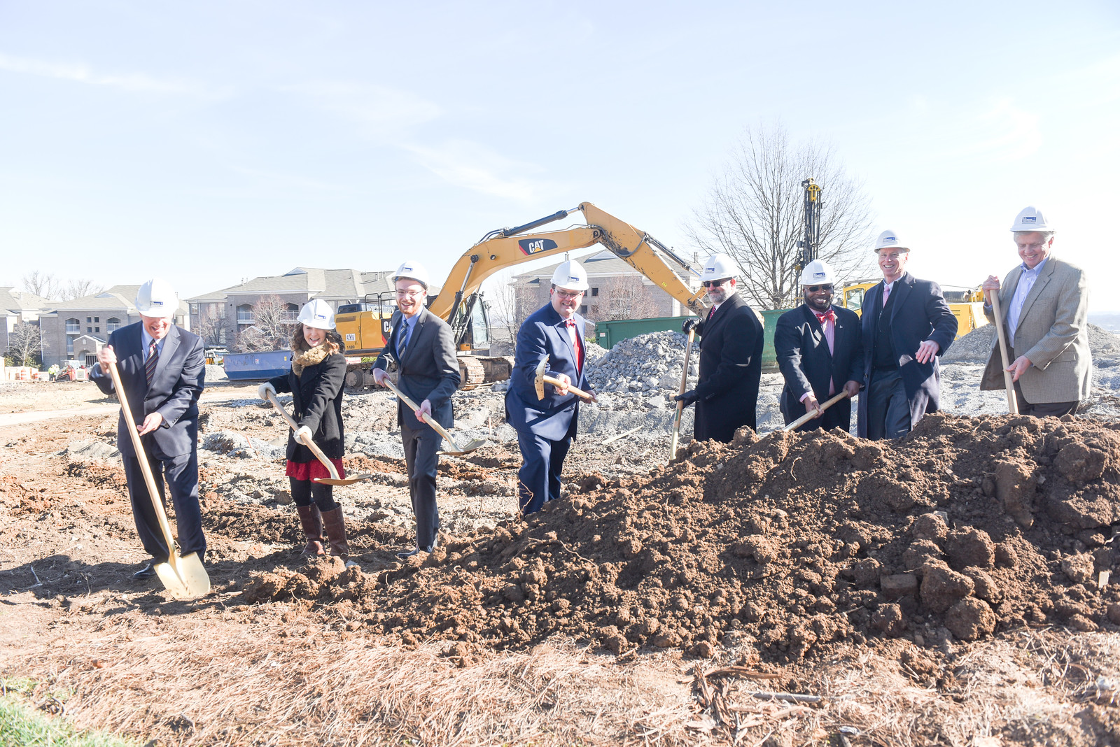 Residence Hall Groundbreaking