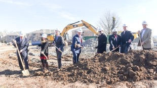 Residence Hall Groundbreaking at Belmont University in Nashville, Tenn. January 30, 2017.