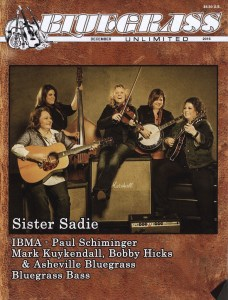 Sister Sadie, a bluegrass group that Belmont staff member Tina Adair is part of, was recently featured on the cover of Bluegrass United. This is the cover.