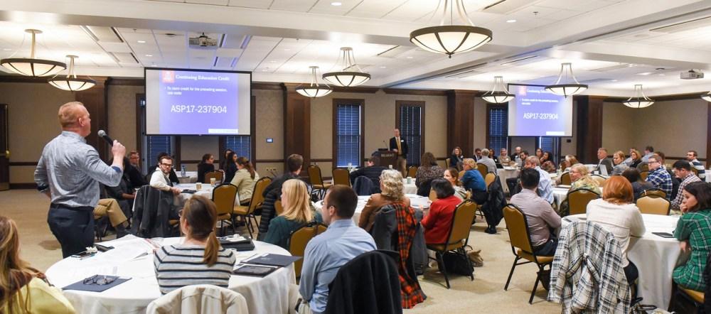 ASP Symposium at Belmont University in Nashville, Tenn. January 27, 2017.