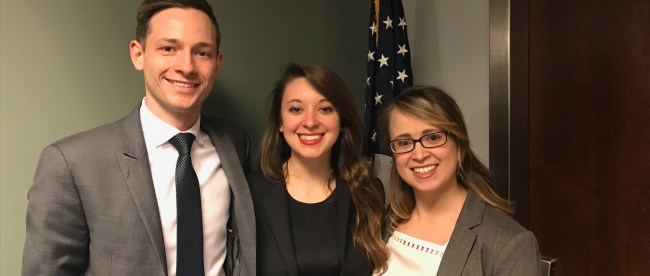 Moot Court Team at Regional Competition