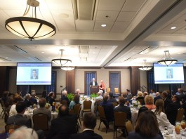 Inductees are announced at the 2017 McWhorter Society Luncheon