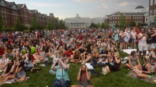 The Eclipse Experience at Belmont University in Nashville, Tenn. August 21, 2017.