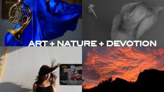 The publicity piece for Christine Roger's art piece, soon to be unveiled in Tucson Arizona.