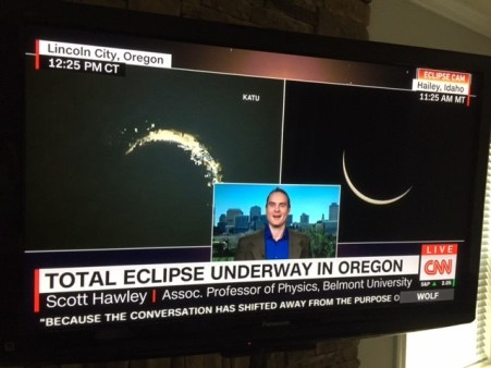 Photo of Scott Hawley appearing on CNN