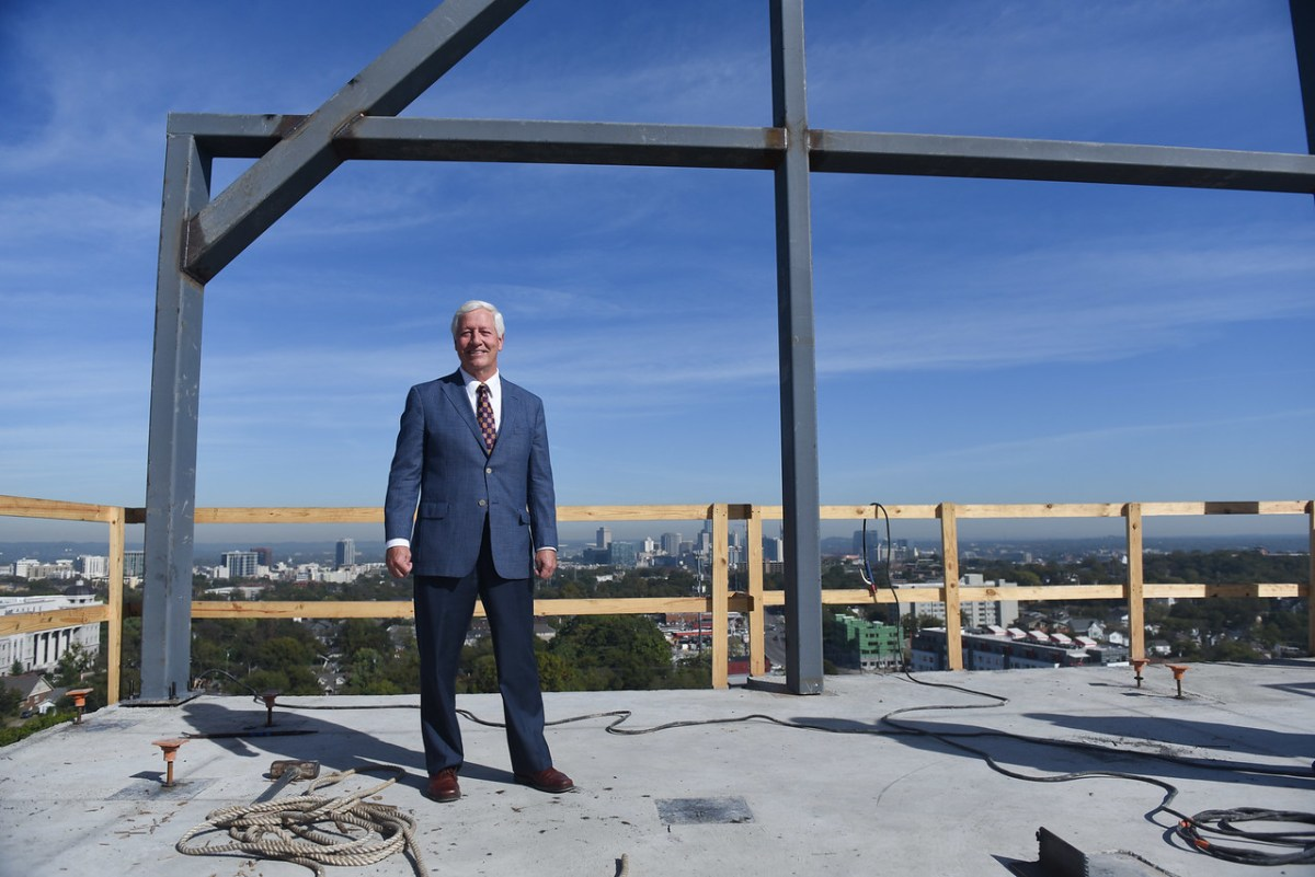 Belmont Tops Out New 'Tall Hall' Residence