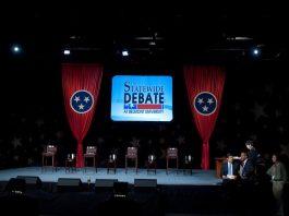 2010 Gubernatorial Debate Stage