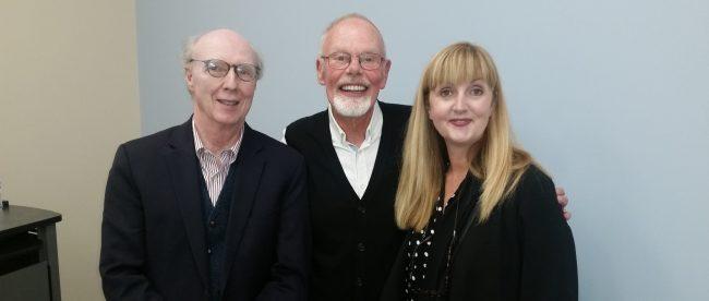 Bob Harris, Trudy Harris and Professor Don Cusic