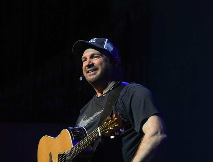 Garth Brooks performs at Homecoming in the Round at Belmont University Nashville, Tennessee, February 23, 2018.