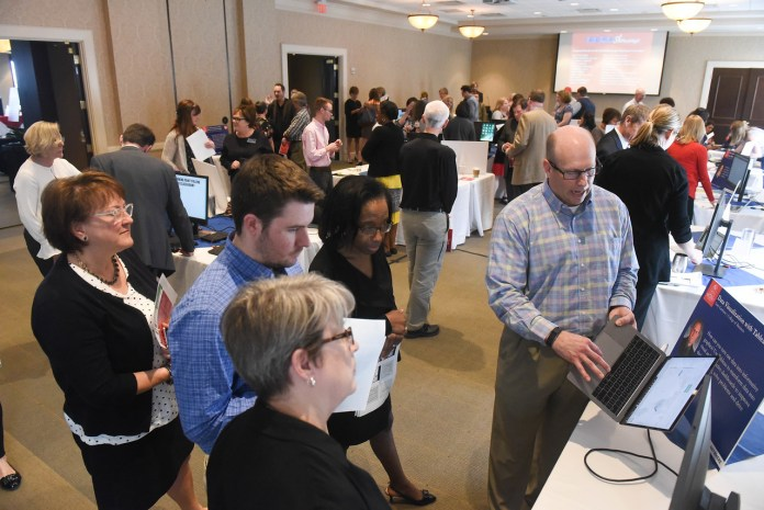 BYTE Showcase Event at Belmont University in Nashville, Tennessee, April 11, 2018.