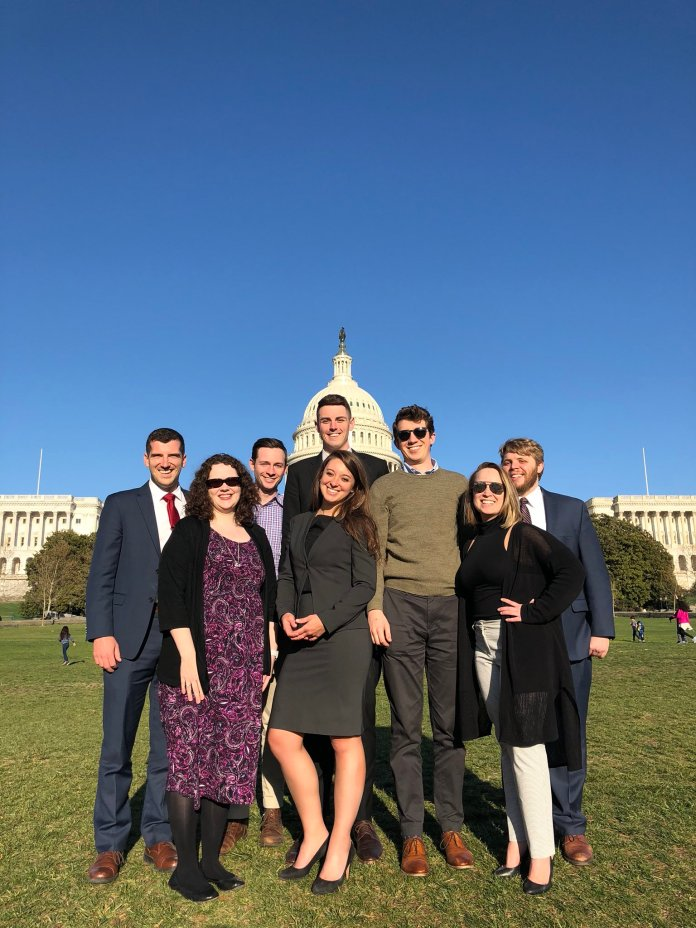 Law students in Washington DC