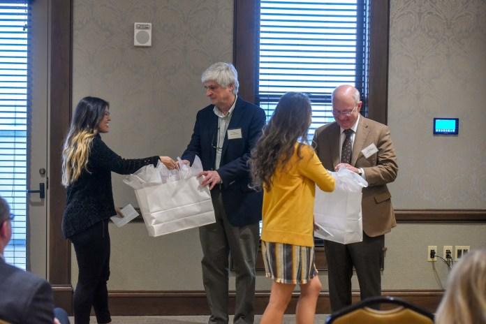 Jeanette Travis Foundation event at Belmont University in Nashville, Tennessee, October 25, 2018.