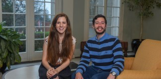 Sean Grossnickle and Maxine Bouldin will both be joining the Peace Corps in Moldova for 2019-2021